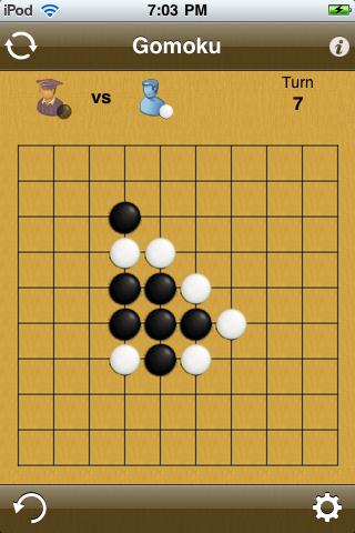 Screenshot Gomoku Classic : 五目並べ? : 五子棋 : 오목 : 五目